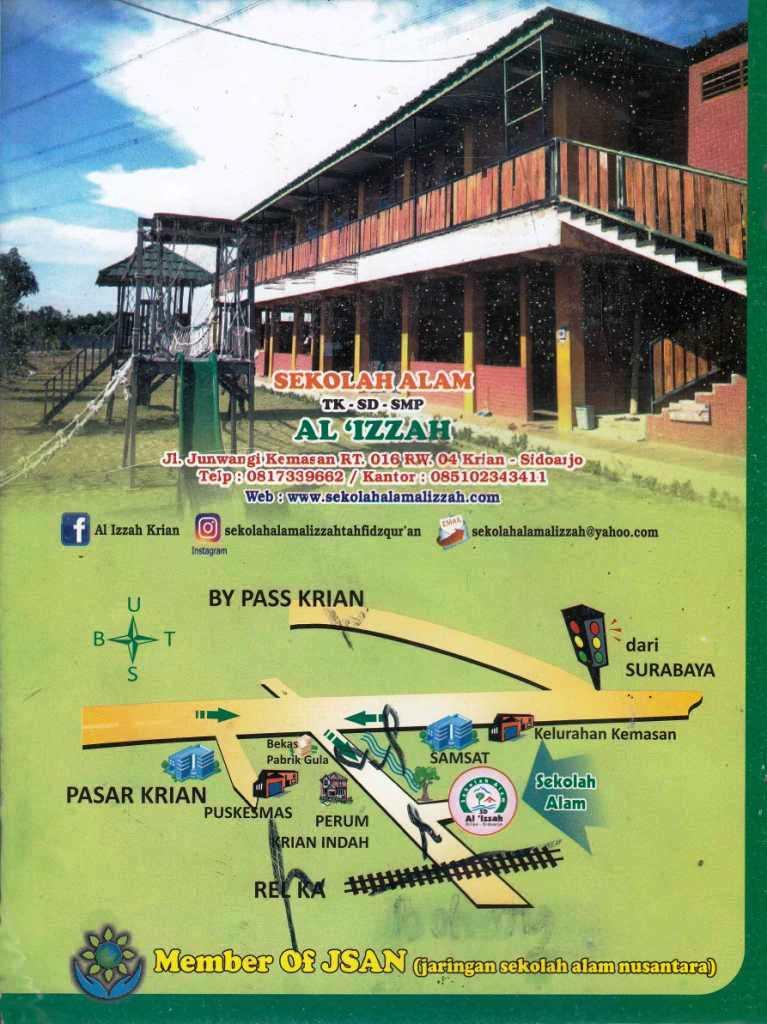 Member Of JSAN (Jaringan Sekolah Alam Nusantara)